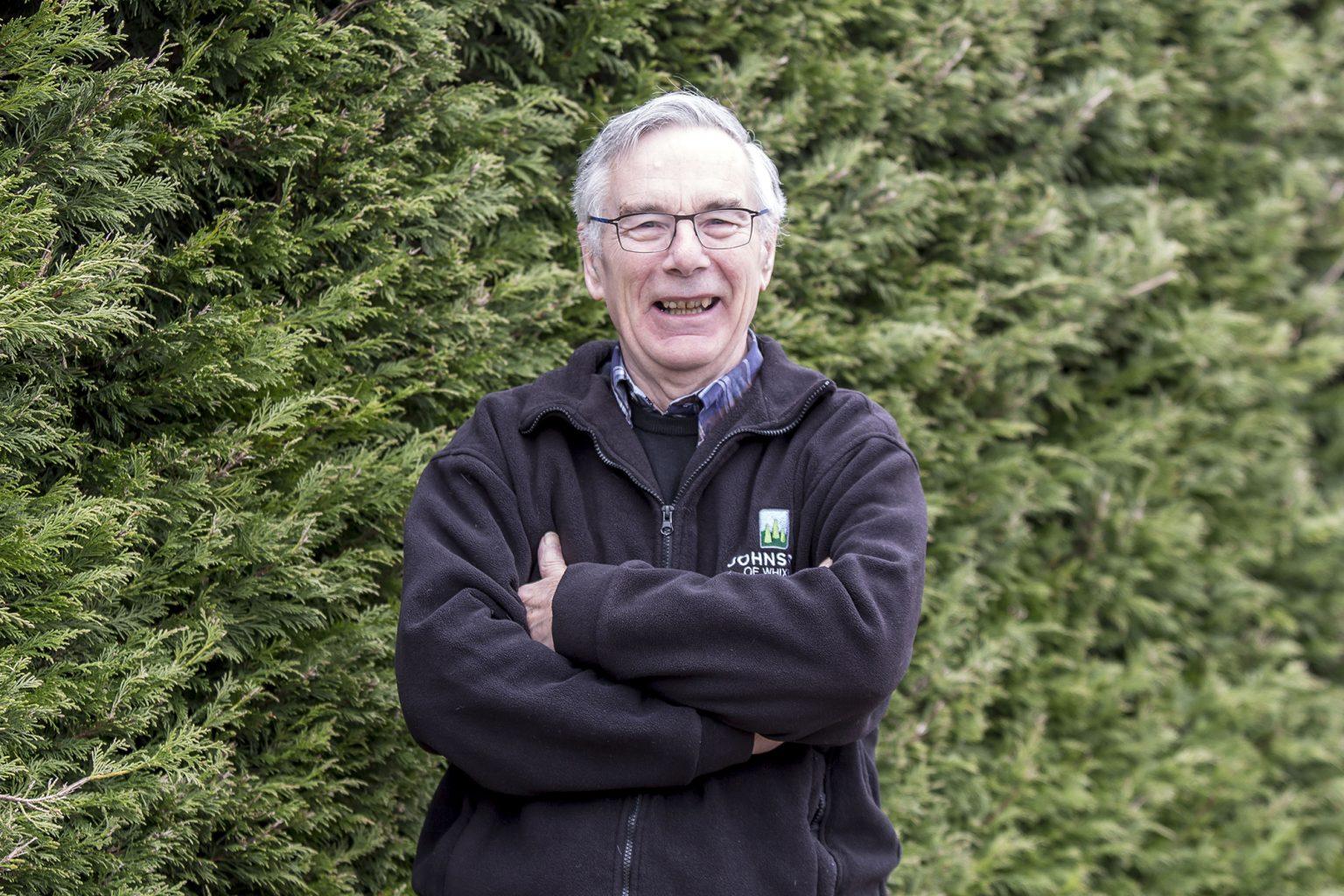 Johnsons of Whixley meet the boss - John Richardson