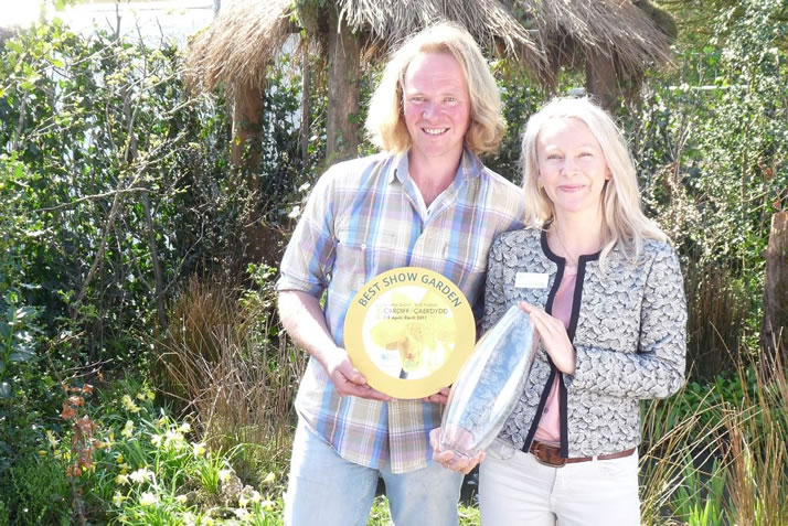 Johnsons supply plants to 'Best in show' at the RHS Cardiff Flower Show