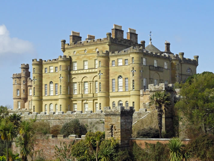 Johnsons supply colour to Culzean Castle, Scotland