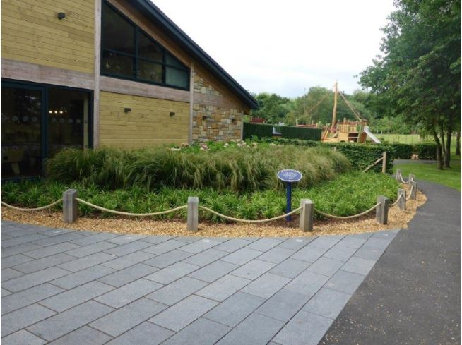 Johnsons supply Haggerston Castle via Brambledown Landscapes Ltd