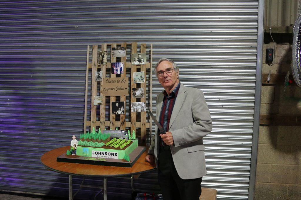 Happy 80th birthday to our Chairman John Richardson!