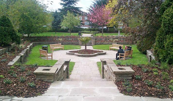 Johnsons supply West Kensington memorial garden
