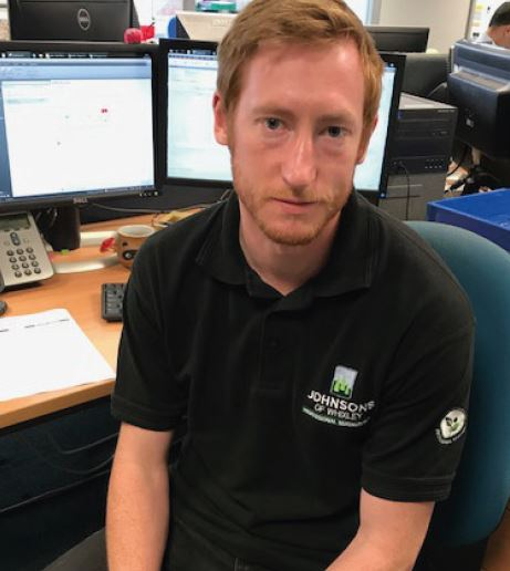 Congratulations to Terry Cooper new system support assistant