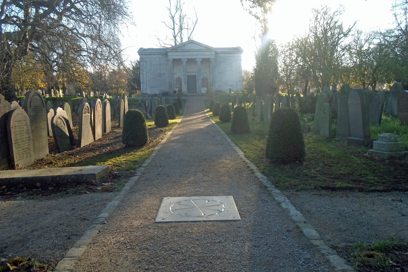 Johnsons help renovate York Cemetery with plant supply