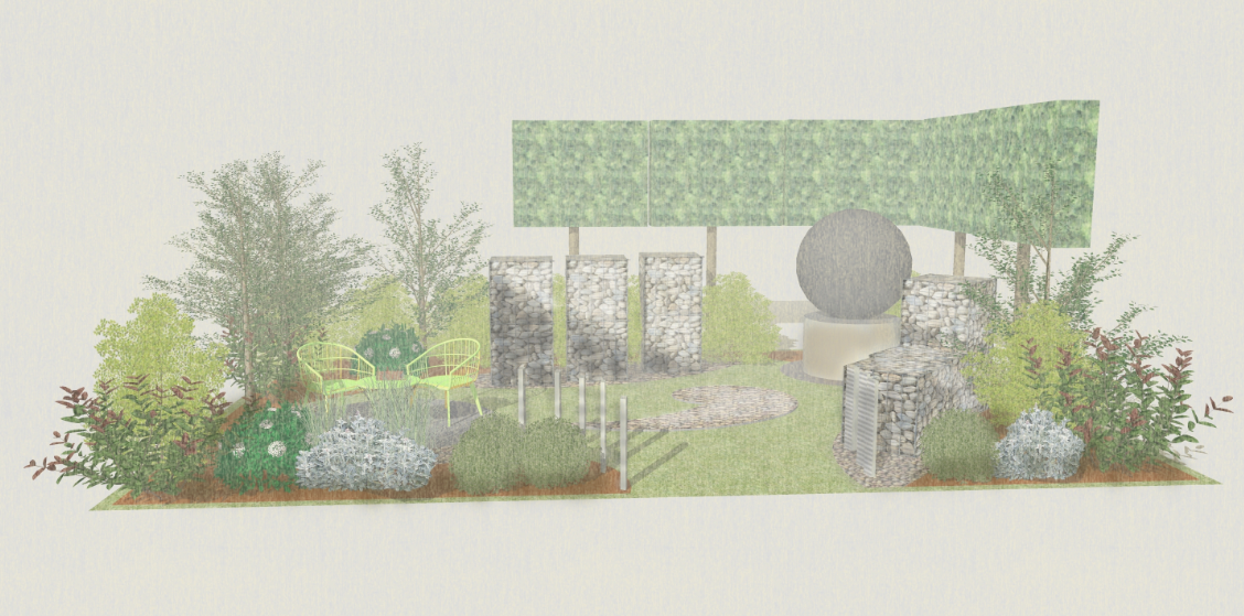Mental Health Garden at Harrogate Flower Show 2019