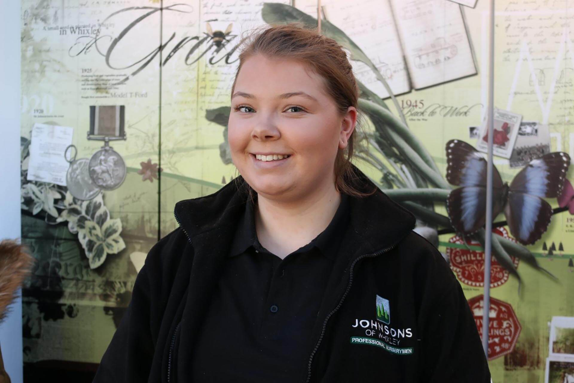 Meet our new sales executive, Hannah Smith