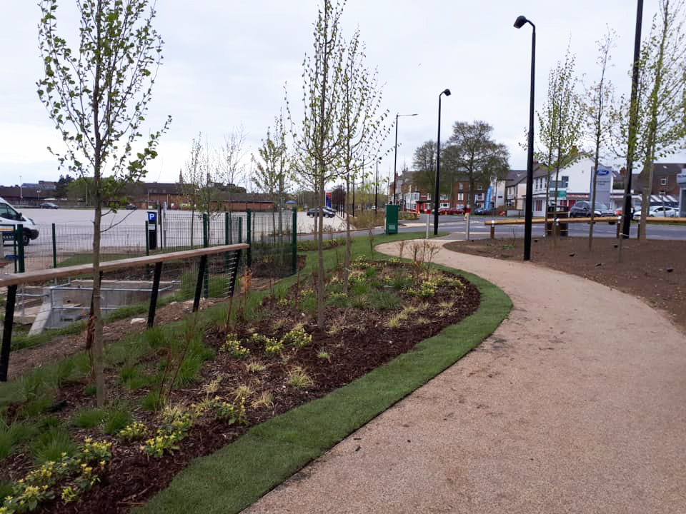 Beautifying new £5m Gypsey Race park