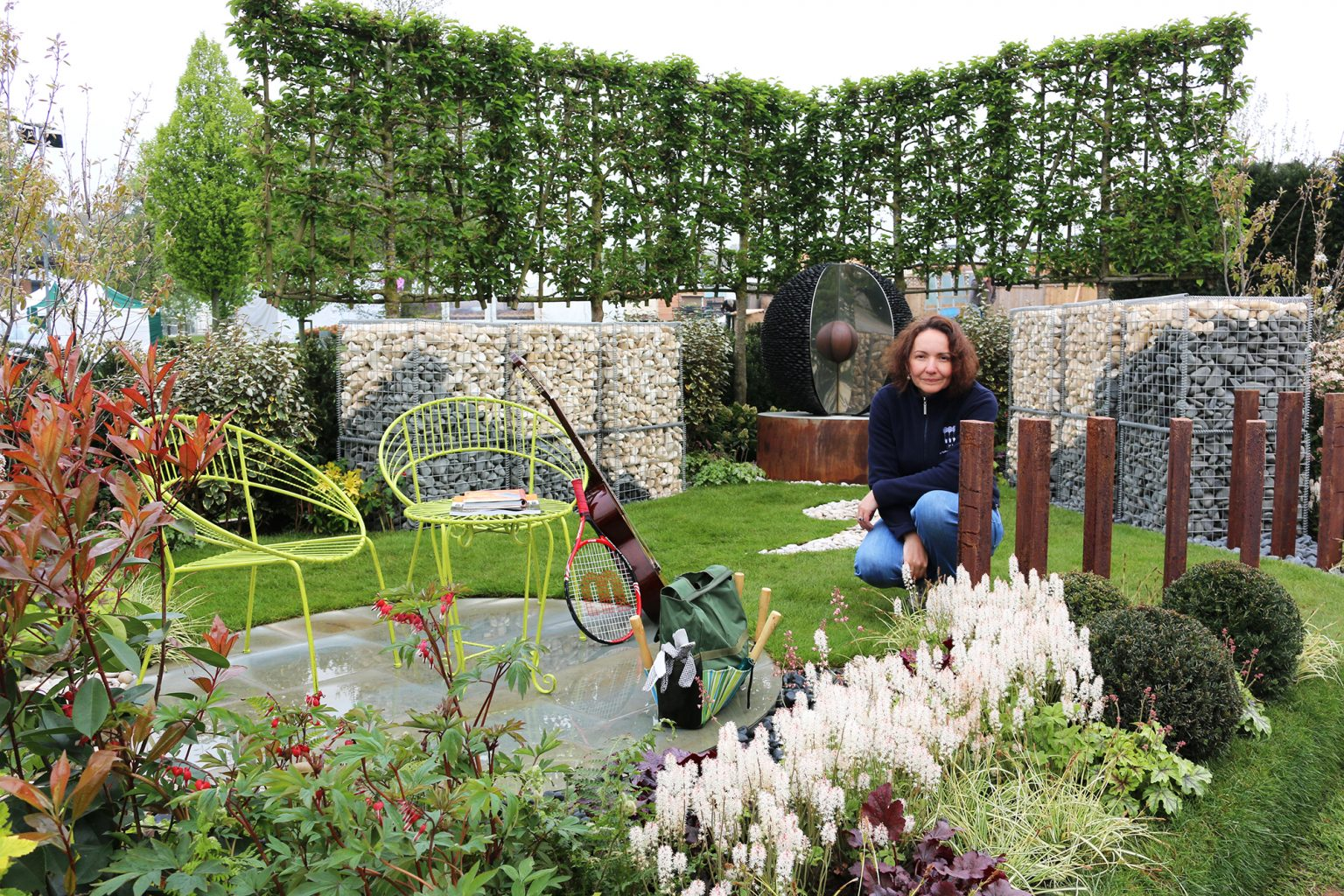Mental health garden takes gold at Harrogate Flower Show