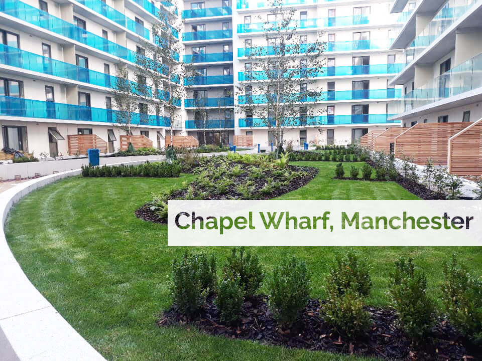 Plant supply to Chapel Wharf apartments, Manchester