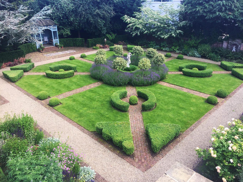 Classic Parterre Garden, Ilkley