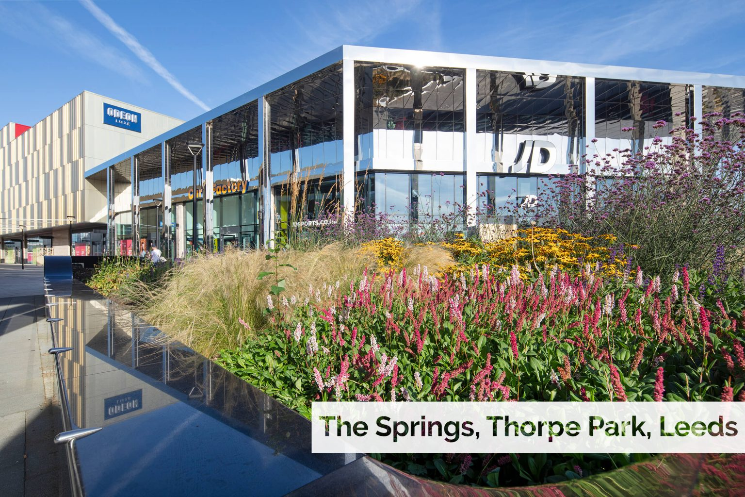 Plant supply to new retail and leisure destination at Thorpe Park, Leeds