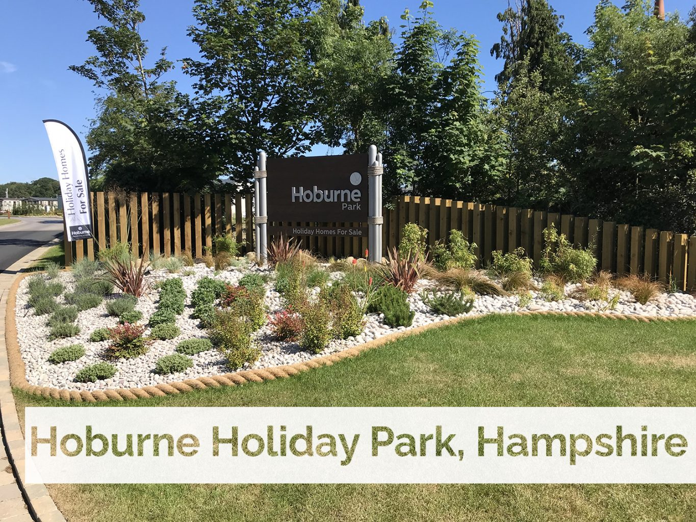 Recent plant supply makes happy holidays at Hoburne Naish Holiday Park