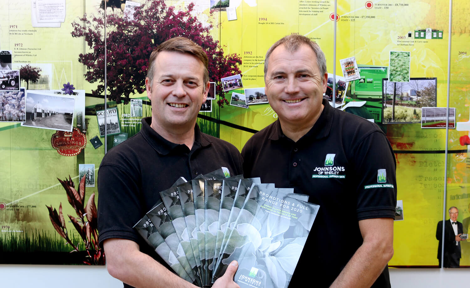 Johnsons Garden Centre Sales launches new catalogue