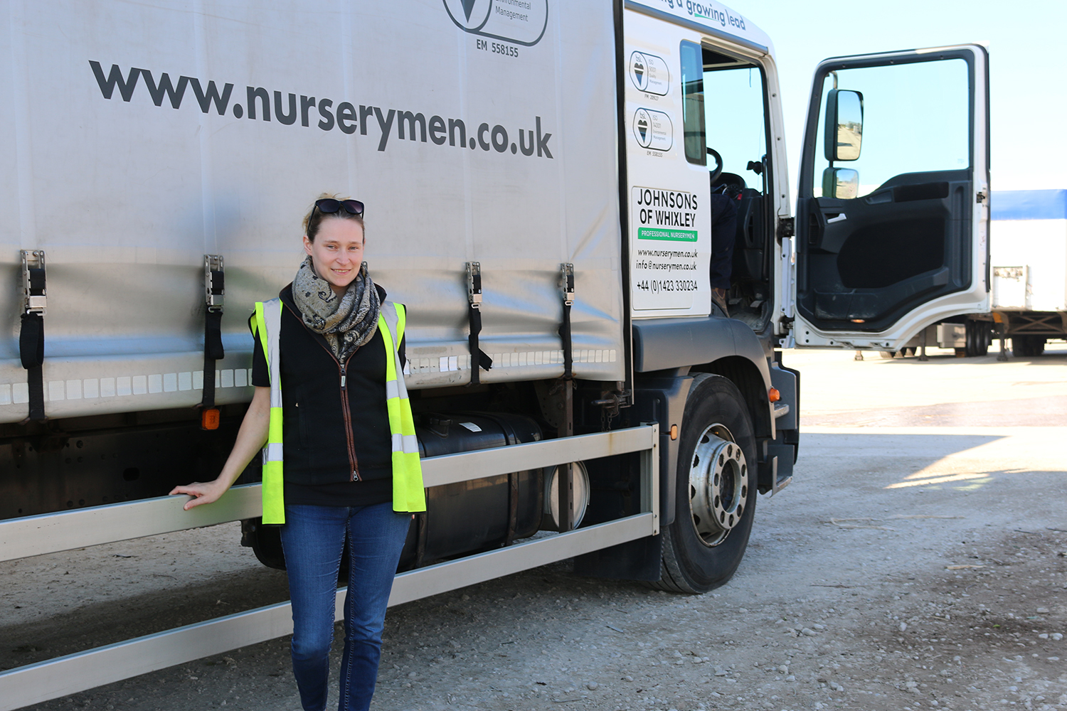 Meet our new Transport and Logistics Manager, Hannah Smith