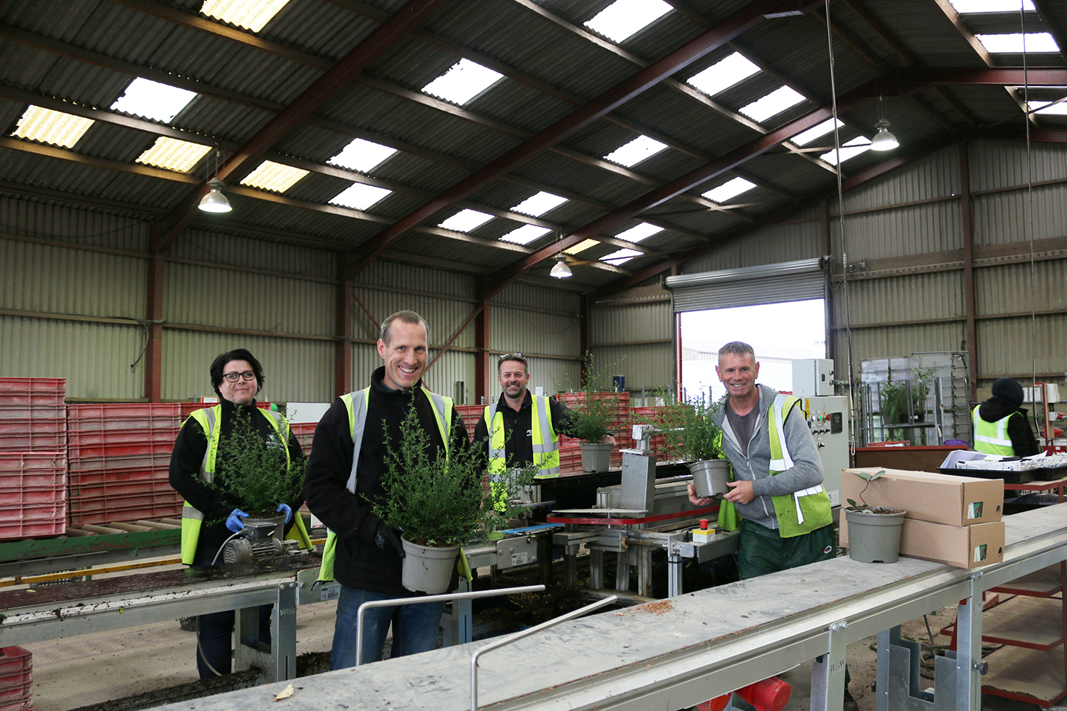 Garden Centre Sales Division celebrates record-breaking year