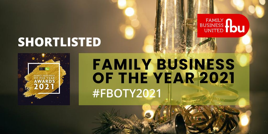 Johnsons shortlisted for Family Business of the Year Award 2021