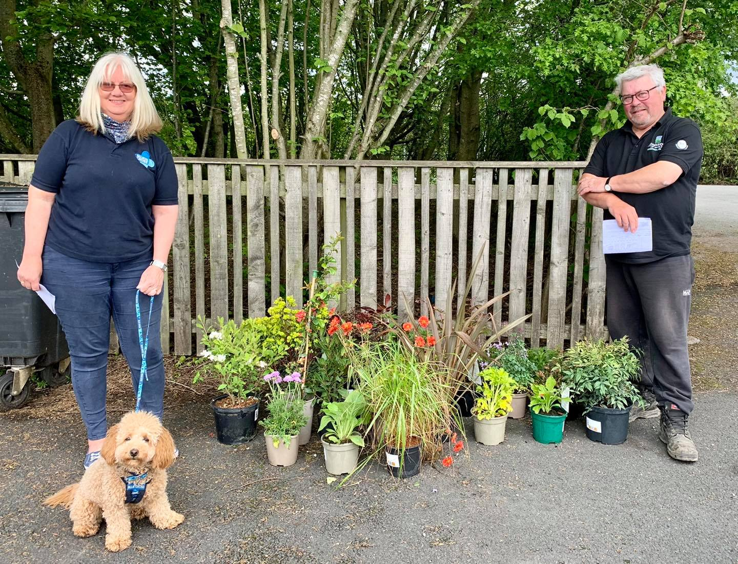 Centenary plant donations help Yorkshire charities bloom